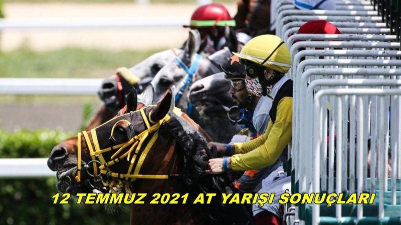 TJK canlı 12 Temmuz 2021 at yarışı sonuçları! 12 Temmuz Pazartesi altılı sonuçları