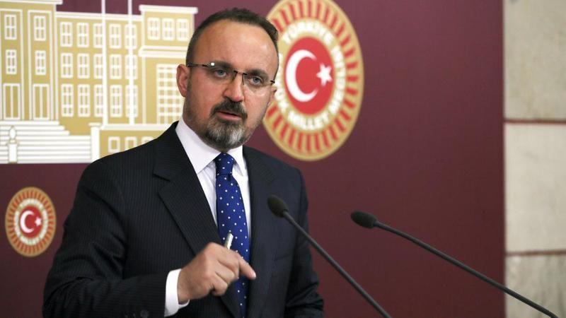Bülent Turan: Osman Öcalan TRT'ye değil TRT Kurdiye çıktı.Türkçe alt yazı bile verilmedi