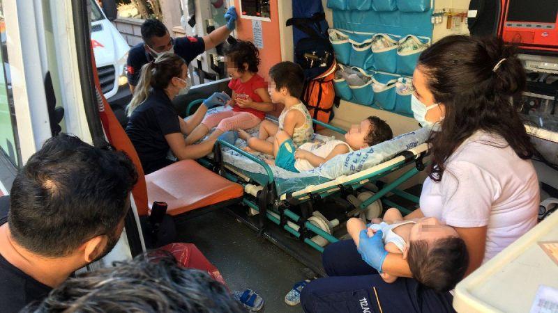 Kan donduran olay, 4 çocuk ölmek üzereyken bulundu
