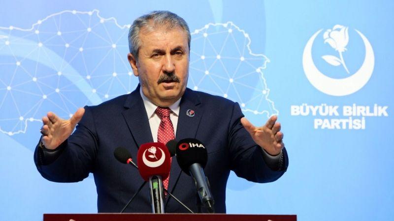 Büyük Birlik Partisi (BBP) Genel Başkanı Mustafa Destici; 'OHAL devam etmeli'