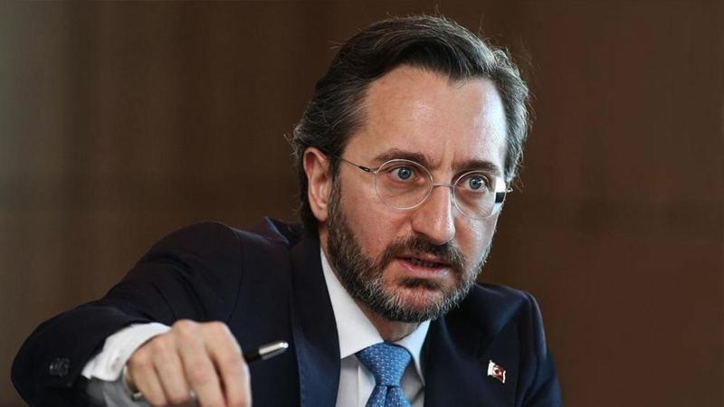 Fahrettin Altun: Kıbrıs'da iki toplumun bir arada yaşama ihtimali Rumların AB'ye alındığı gün bitti