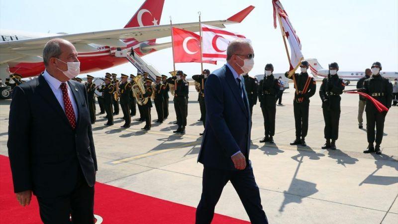 Cumhurbaşkanı Erdoğan yavru vatanda açıklamalarda bulundu