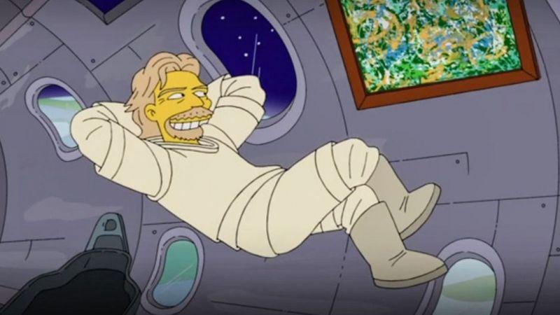 The Simpsons'lar yine bildi