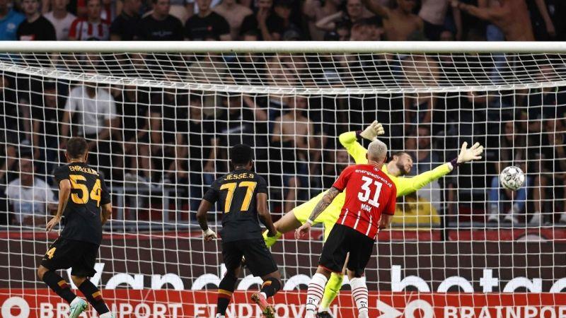 Galatasaray - PSV maçında ağır yenilgi!