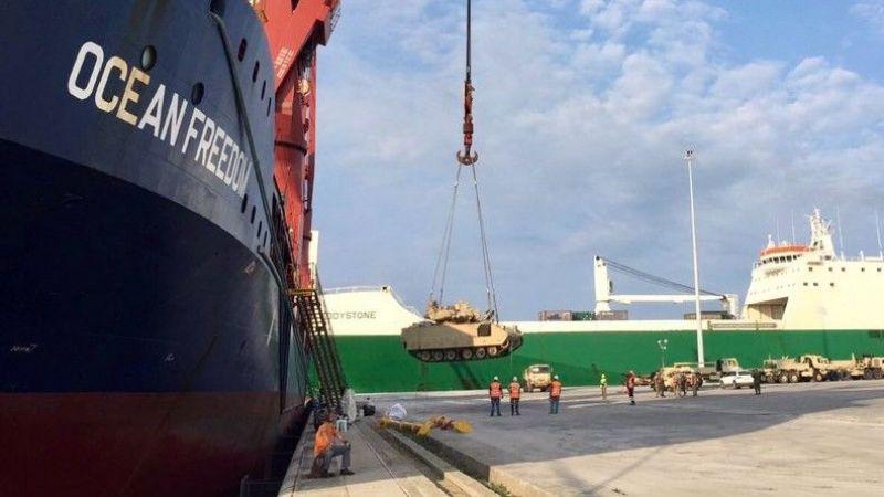 ABD, Türkiye sınırına yüzlerce tank ve zırhlı araç sevk etti