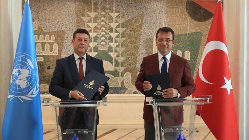 İBB ile UNHCR arasında sığınmacılar ve mültecilere yönelik mutabakat imzalandı