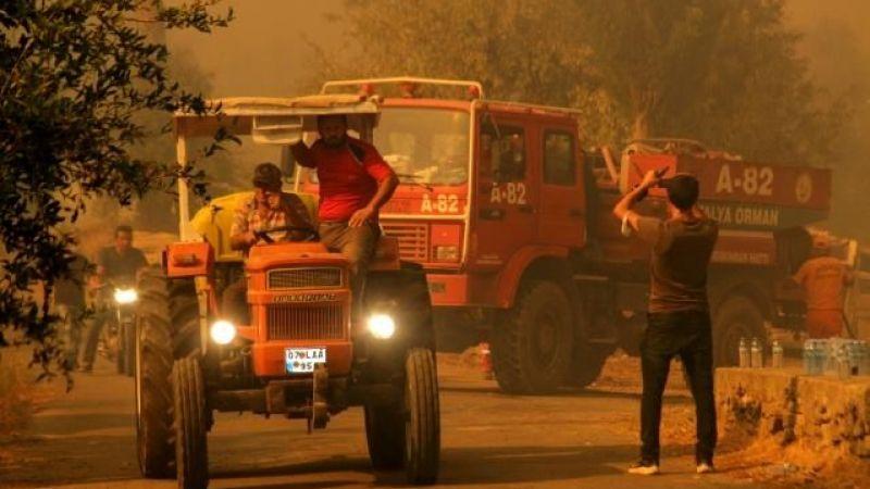 Manavgat'ta çıkan yangından yeni bilgiler! Vatandaşlar alevlerin arasında kaldı