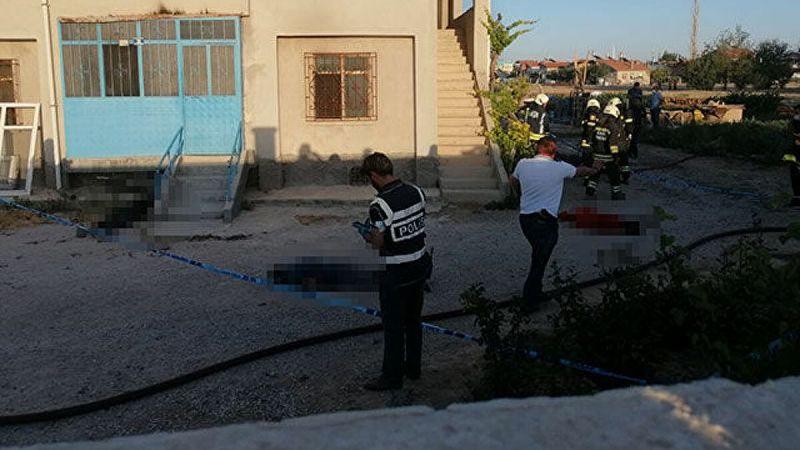 Konya'da katliam: 7 kişi öldürüldü