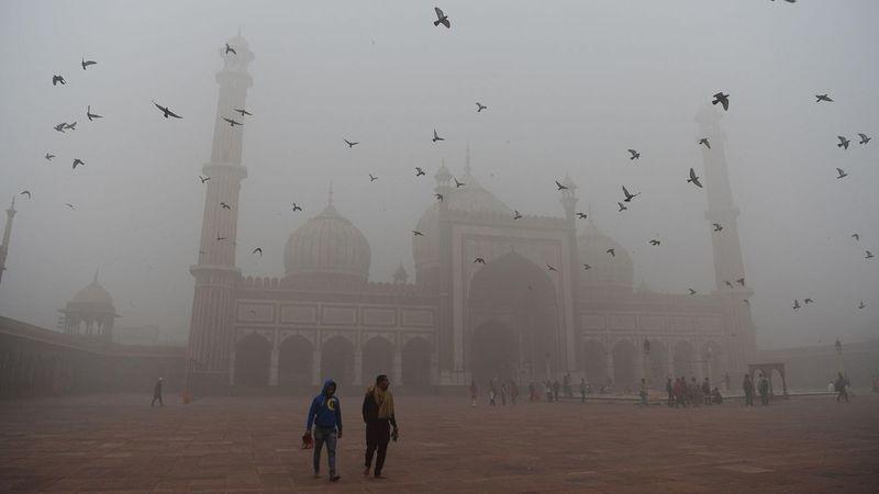 Hindistan hava kirliliğiyle boğuşuyor