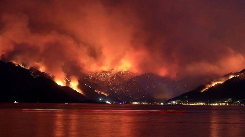 Orman yangınlarına ilişkin son bilgiler paylaşıldı