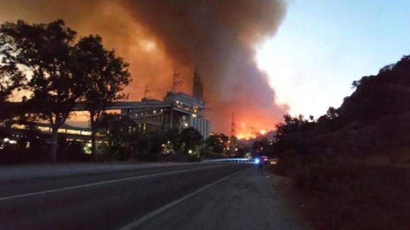 Milas'taki yangın termik santrale sıçradı! Milas Belediye Başkanı'ndan açıklama