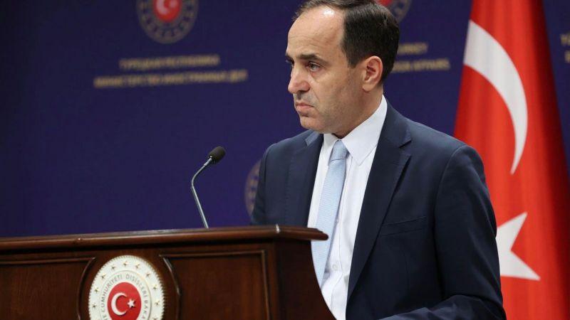 Dışişleri Bakanlığı Sözcüsü Bilgiç:'' Ülkemiz, hiçbir durumda üçüncü ülkelerin uluslararası sorumluluklarını devralmayacak''