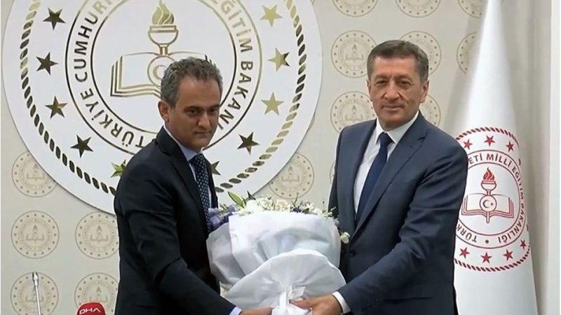 Mahmut Özer bayrağı devraldı yeni Milli Eğitim Bakanı'ndan ilk açıklamalar