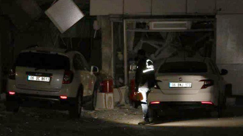 Ankara'da bir akaryakıt istasyonunda patlama meydana geldi! 1 kişi yaralandı