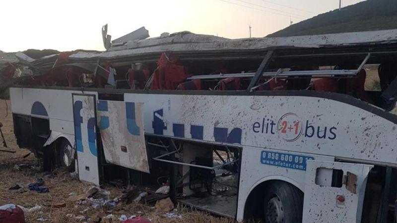 Balıkesir'de gerçekleşen otobüs kazası hakkında yeni iddialar ortaya atıldı