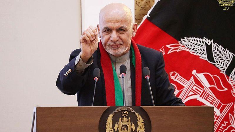 Afganistan Cumhurbaşkanı Gani: Taliban ile mücadeleye devam edilecek