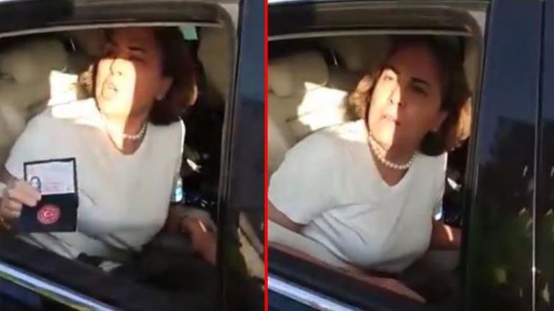 Aracını durduran polislere tepki gösteren milletvekili Zeynep Gül Yılmaz özür diledi