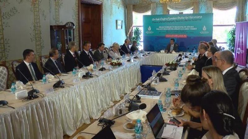 Ekrem İmamoğlu Balkan Ülkerilerinin diplomatlarıyla bir araya geldi