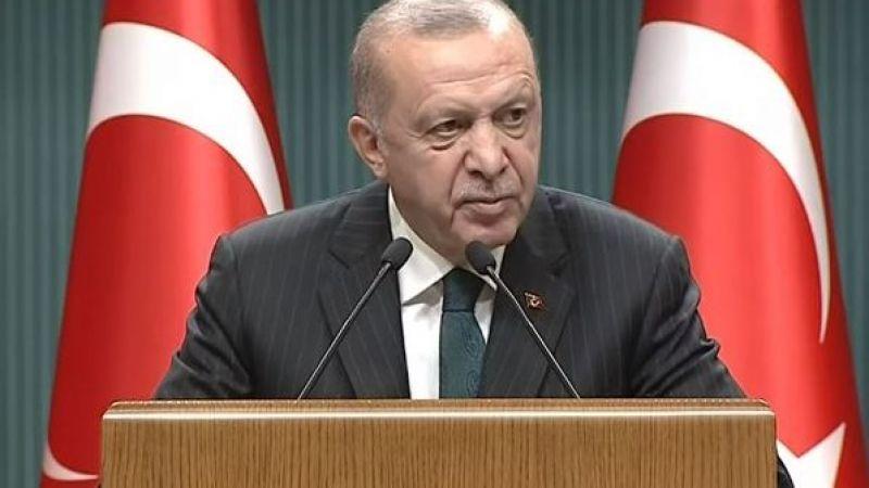 Kabine toplantısı bitti Cumhurbaşkanı Erdoğan açıklama yapıyor