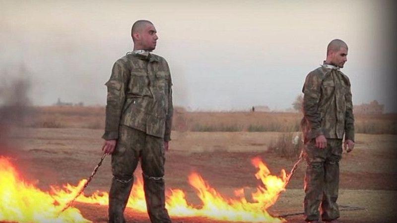 Saymaz: 2 Türk askerinin yakılarak infaz edilmesi fetvasını veren İŞİD'li tutuksuz yargılanıyor