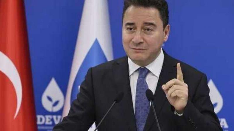 Ali Babacan: Kesinlikle Cumhur İttifakında yer almayacağız