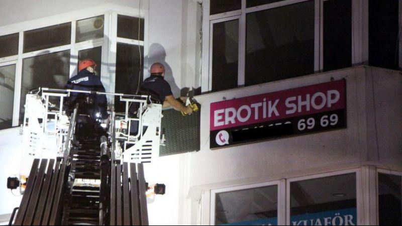 Bolu'da açılan erotik shop mühürlendi