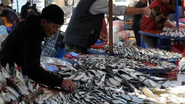 Fırtına nedeniyle balık fiyatları arttı