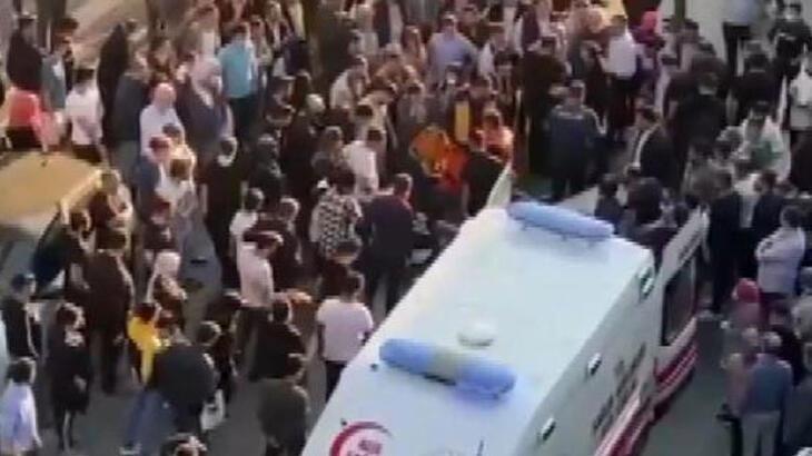 İstanbul'da korkulu dakikalar! Herkes yardıma koştu
