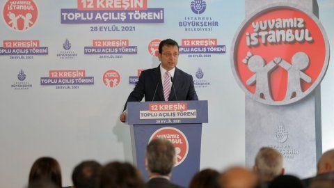 Ekrem İmamoğlu, 12 kreşin açılışını gerçekleştirdi! 'Yuvamız İstanbul' projesi