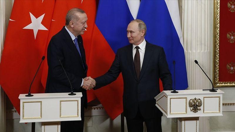 Soçi'de Cumhurbaşkanı Erdoğan ve Rusya Devlet Başkanı Putin görüştü