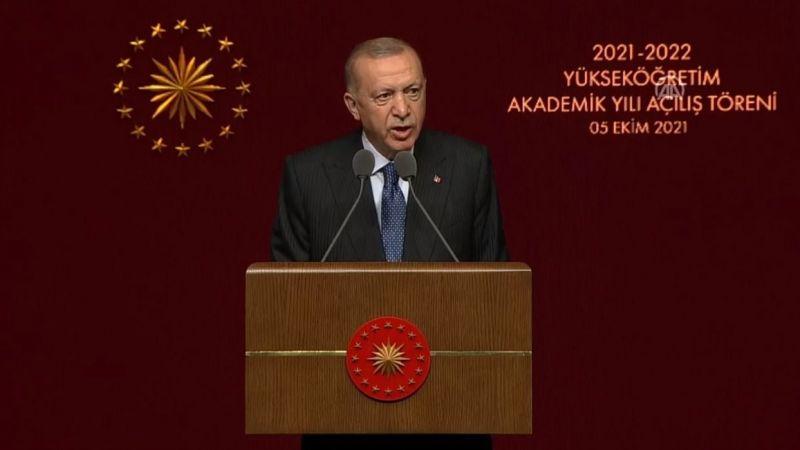 Erdoğan: Türkiye, dünyada yüksek öğretim öğrencilerine en fazla barınma imkanı sağlayan ülkedir
