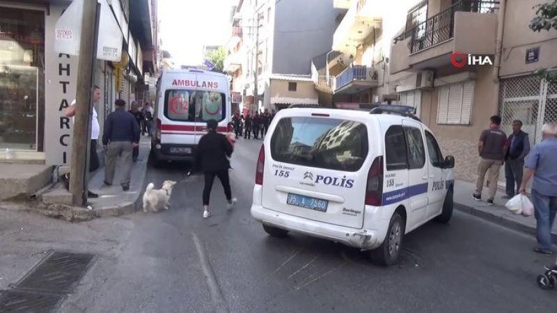 İzmir'de bıçaklı adam kız arkadaşına dehşeti yaşattı!
