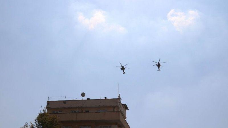 Atak helikopterler dosta güven verdi, düşmana korku saldı