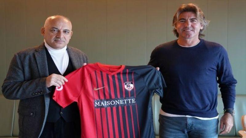 Gaziantep FK'nin yeni teknik direktörü Pinto'dan mücadele vurgusu