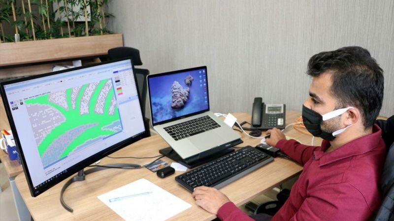 Gaziantepli mühendis geliştirdiği yazılımla 26 ülkenin halı sektörüne yön veriyor