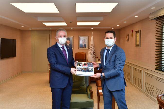 AA Gaziantep Bölge Müdürü Bağrık'tan, Gaziantep Valisi Davut Gül'e ziyaret