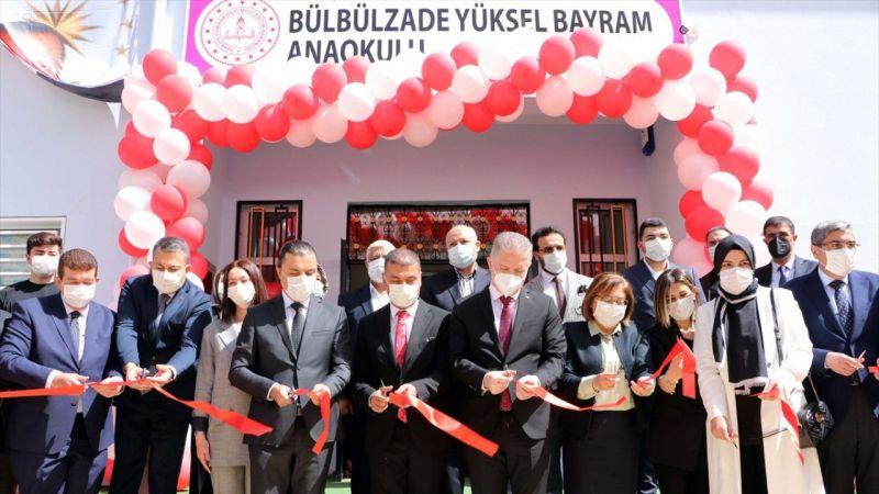 Gaziantep'te eğitime destek sağlayan iş adamının annesinin adı anaokuluna verildi