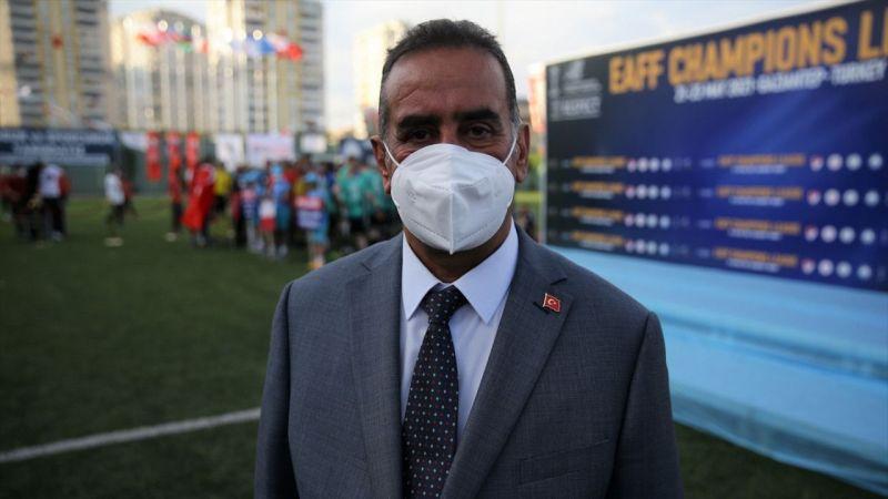 EAFF Şampiyonlar Ligi şampiyonu Şahinbey Belediyespor'da büyük gurur yaşanıyor