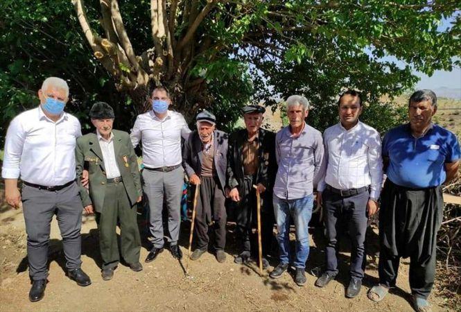 Nurdağı Kaymakamı Akça, ilçedeki Kore gazilerini ziyaret etti