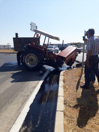 Gaziantep'te otomobil ile traktör çarpıştı: 4 yaralı