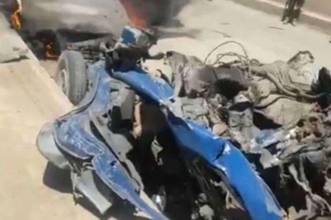 Afrin'deki bombalı araç saldırısında 3 sivil katledildi, 3 yaralı