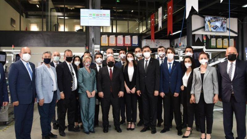 Bakan Varank, Gaziantep Model Fabrika'nın açılışını yaptı