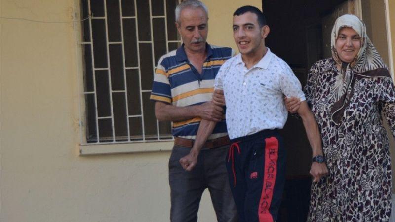 Gaziantep'te bedensel engelli Yunus Emre'nin YKS heyecanı