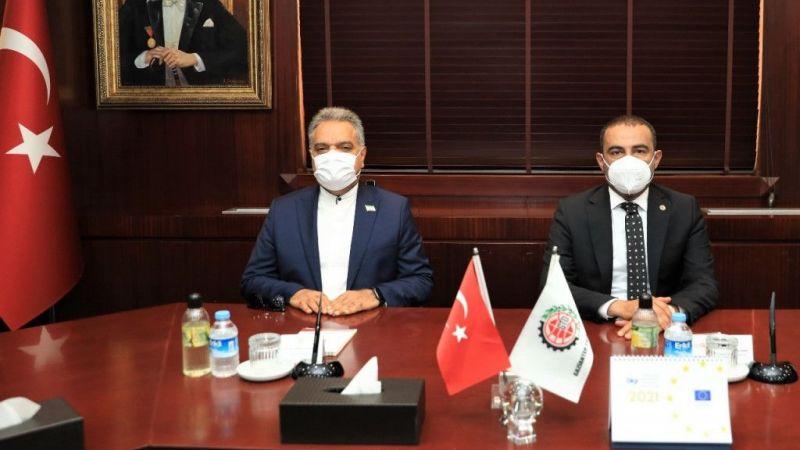 İran'nın Ankara Büyükelçisi GTO'yu ziyaret etti