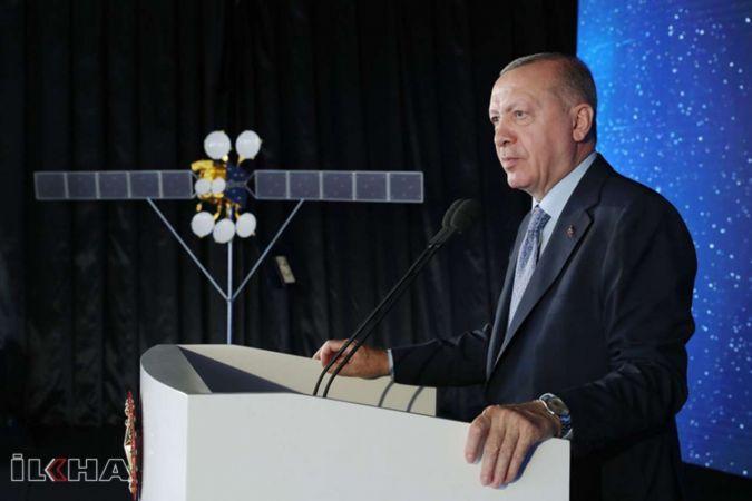Cumhurbaşkanı Erdoğan'ın katılımıyla TÜRKSAT 5-A uydusu hizmete alındı