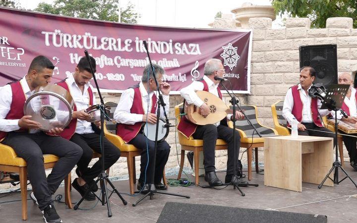 Gaziantep'te 'ikindi sazı' geleneği