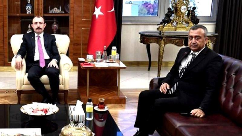 GAİB Başkanı Kileci'den Ticaret Bakanı Mehmet Muş'a Ziyaret