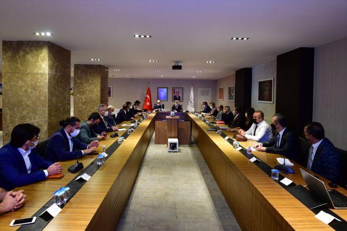 """Gaziantep'te """"Uluslararası İş Gücü Değerlendirme Toplantısı"""" gerçekleştirildi"""