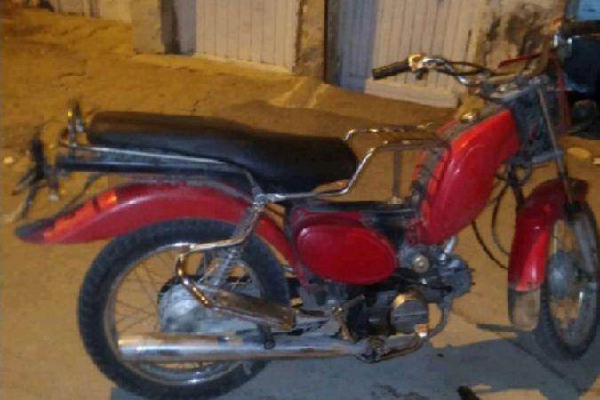 Motosiklet çalan şüpheli gözaltına alındı
