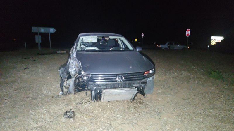 Gaziantep'te otomobil ile kamyonet çarpıştı: 5 yaralı
